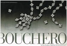 Publicité Advertising 1976 (2 pages) Les Bijoux Boucheron