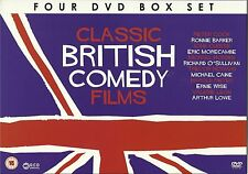 CLASSIC BRITISH COMEDY FILMS - 4 DVD BOX SET - SIR HENRY AT RAWLINSON END & MORE