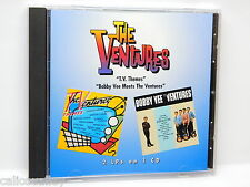 The Ventures: TV Themes/Bobby Vee Meets the Ventures ~ Good CD (One Way Records)
