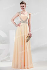 Sweetheart Neckline Long Bridesmaid Beading Sequin Wedding Evening Party Dress