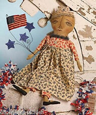 Bethany Lowe Americana Fabric Girl DoLL*American Flag*Stars*Great Christmas Gift