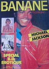 CURIOSA REVUE BANANE MECANIQUE N° 4 de 1984 BD ADULTE REPORTAGE MICHAEL JACKSON