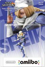 Amiibo NFC Card Sheik Smash Zelda Breath Of The Wild