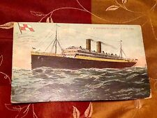 EMPRESS IRELAND CANADIAN PACIFIC LINE POSTCARD STAMP POSTMARK MARITIME DISASTER