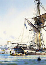 Geoff Hunt Limited Edition Remarque - Master And Commander