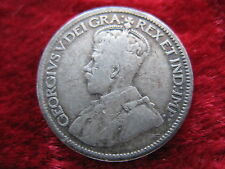 1919 Canada 10 Cent Coin, Historic SILVER Coin! .0691 oz. Fast U.S. Shipping!