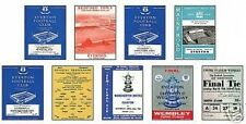 Everton FA Cup Winners 1966 Programme Trading Card Set