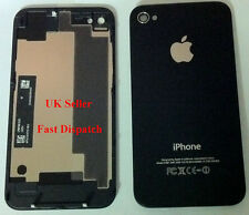 iPhone 4S back glass cover -- black