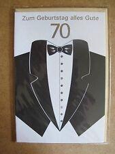 Grußkarte Zum Geburtstag alles Gute 70 Jahre Aufklappbar  C0104