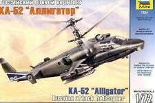Zvezda KA-52 Alligator Russian attack Helikopter Hubschrauber 1:72 Modell kit
