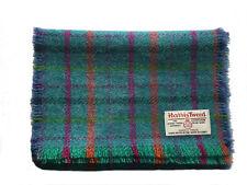 Luxury Harris Tweed Tartan Scarf Pure Wool