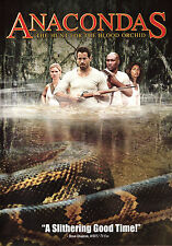 Anacondas: The Hunt for the Blood Orchid (DVD, 2004, Full & Widescreen) Thriller