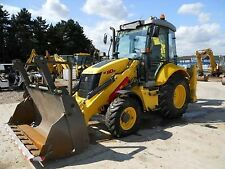 New Holland B110 & B115 Retroexcavadora Excavadora/Taller Manual
