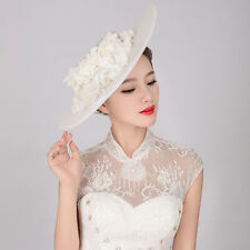 Church Derby Cocktail Formal Hat Formal Wedding Bridal Veil Accessories Handmade
