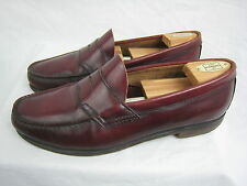 Men's Size 12 Burgundy Leather G.H. Bass & Co Weejuns Penny Loafers Shoes EUC