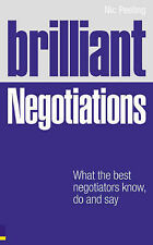 Dr Nic Peeling Brilliant Negotiations: What the Best Negotiators Know, Do and Sa