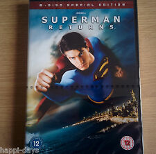 NEW SEALED - SUPERMAN RETURNS - Film Movie 2x DVD - Special Edition - Region 2
