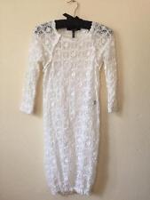 Isabel Marant Dali White Stretch Lace Crochet Dress 1