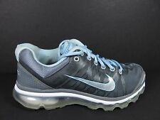 Nike Air Max 2009 360 Womens Size 8.5 Running Shoes White Blue Silver 354750 006