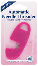 Hemline Automatic Needle Threader And Needles