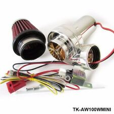 Turbo Kits Mini Electric Turbo Supercharger Kit Air Filter Intake for All Car Mo