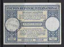 IRC A27 Belgium 1963 International Coupon - Reponse Mail Payment document
