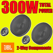 JBL 300W TOTAL 2WAY 6.5 INCH 16.5cm CAR DOOR 2WAY COMPONENT SPEAKERS + TWEETERS