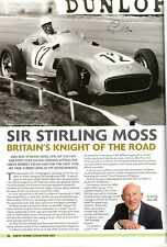 STEAM FAIR SOUVENIR BOOK HANDSIGNED BY EX FORMULA ONE CHAMPION STIRLING MOSS