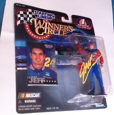 jeff gordon signed autograph NASCAR Starting Lineup Winners Circle figure COA