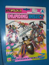 VINTAGE 80'S INVADING INSECT FLY A V WORLD ROBOT MOC TRANSFORMER