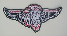 Drifter Motorcycle 12.5 inch wing patch. Kawasaki. Nice New