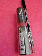 NYX Matte lipstick MLS09 NATURAL SEALED & EYE LINER #923 COPPER LOT OF 2