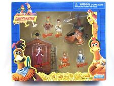 NEW 2000 CHICKEN RUN PLAYSET PLAYMATES ROCKY GINGER FOWLER MAC MRS. TWEEDY MINT!