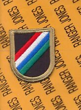 5th SOCCE Special Operations C-2 Element Airborne beret Flash patch 1-B NFE