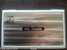 NINTENDO GAME & WATCH OIL PANIC OP-51 HANDHELD CONSOLE SYSTEM