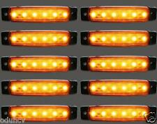 10x 24V LED Feu de Position Orange Phares pour camion Volvo Man Scania Iveco Daf