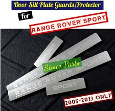 4 x Door Sill Scuff Plate Guards for Land Range Rover Sport 2005-2013