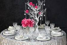 "30"" Silver MANZANITA TREE with Garlands Wedding Party CENTERPIECES Decorations"