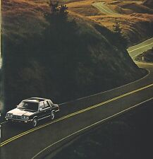 1987 Chrysler NEW YORKER Brochure/Catalog with Color Chart