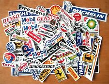 Discount seconds sticker set 100 car motorbike motorsport JDM vinyl sticker bomb