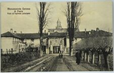 Cartolina Formato Piccolo - Monumentale Certosa Di Pavia - Viale All'Ingresso Pr