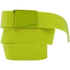 Vans Off The Wall Conductor Web Belt Bottle Opener Buckle Lime One Size New NWT