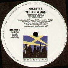 GILLETTE - You're A Dog -  Downtown