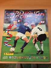 RARE EURO 1996 Panini Football sticker album EM EC 96 -  100% Complete