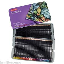 DERWENT STUDIO TIN of 72 fine colour pencils