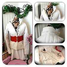 MISS SIXTY WHITE PUFFER ITALY JACKET/COAT!