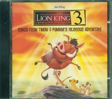 The Lion King 3 Hakuna Matata Timon & Pumbaa Ost Cd Ottimo