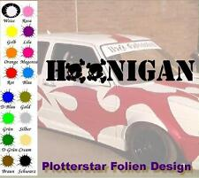 Hoonigan Skulls Bitch Hater JDM Sticker Aufkleber OEM Power fun like Shocker