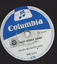 The Big Ben Banjo Band : Sweet Georgia Brown + Alabama Jubilee