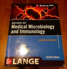 Lange Review of Medical Mircobiology & Immunology 12th edition by Levinson